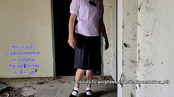 นักเรียนไทยโดดเรียนไปเย็ดกันที่บ้านร้าง 13