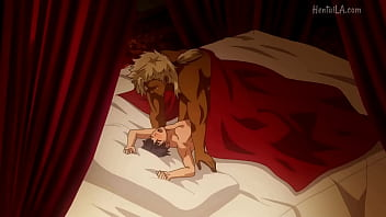 The Titan's Bride serie yaoi  hentai    gay  full series spanish sub ( breed human furry titan sex  )