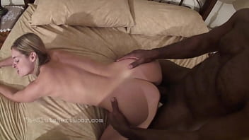 Lonely wife sneaks away to see her Black lover