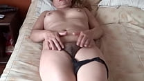 My latina wife's sister exhibiting her hairy pussy so that I can masturbate and make her cum - ARDIENTES69