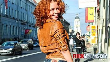 Redhead Anal Teen Cute Sunny Likes Rough