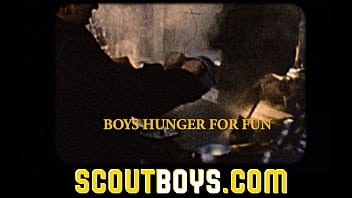 ScoutBoys - New horny scout pledges obedience to DILF scoutmaster