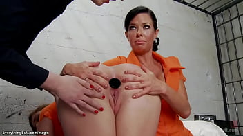 Dyke cop anal fucking sexy inmates