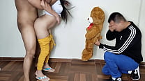 I Bring My Girlfriend a Teddy But She Prefers Her Lover's Big Cock - The Day My Girlfriend Mounts Me In Front Of Me And I Enjoy It Netorare