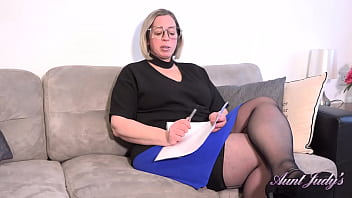 AuntJudys - A Special Lesson with Naughty BBW Tutor Ms.Star 20 min