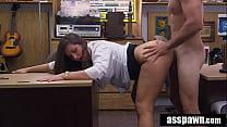 Real Spycam Sex: Big Booty Waitress Blackmailed Into Bang For Bucks - Madisin Lee