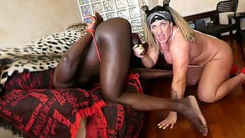 Extreme BDSM to a BBC man.