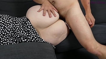 My stepmom this milf lets me fuck her huge ass because i'm virgin! 7 min