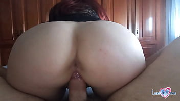 Wake up son! I want to ride your cock until cum inside my pussy! - Pov Amateur