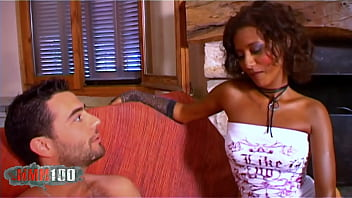 Priska Farel stunning petite black french babe gets ass fucked by Phil Hollyday 12 min