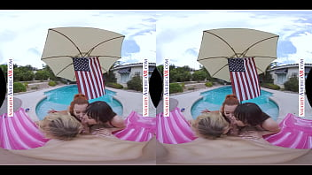 Naughty America - It's a very naughty 4th of July with Madelyn Monroe, Madison Morgan, & Lexi Luna