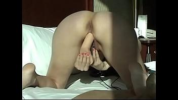 dildoing my pussy