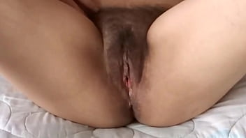 Hairy pussy wide open and close-up of my latina wife and her mature sister