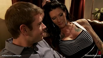 TS with big cock fuck man on first date 5 min