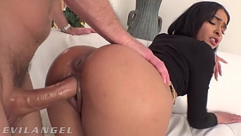 EvilAngel - Mixed Cutie Ryder Rey's Tight Ass & Pussy Fucked