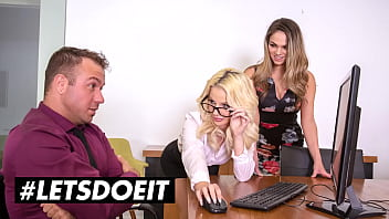 SCAM ANGELS - Bella Rose, Athena Faris & Chad White - SCAMMING THE BOSS HAS NEVER BEEN SO EASY!