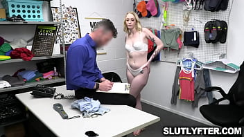 Officer giving that dick this shoplifter wants after a strip search