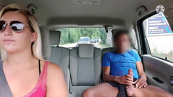Oh fuck, a crazy customer gets in and pulls out his cock in my cab ... I'm shocked and fire him !! 8 min