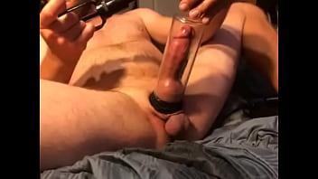 Jacking my cock