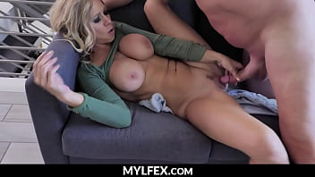 Hot Milf without Clothes, Caught by her Brother in Law - Katie Morgan | MYLFEX.com