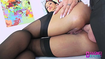 MILF Jewels Jade Titty Fucks A Big Cock and Gets Ass Fucked