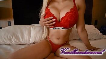 Big Tits Blonde Model Titfucks and Sucks Big Cock - Vanillaandcaramel