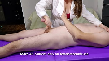 Lucky Dude Gets A Cock Massage For Relaxation