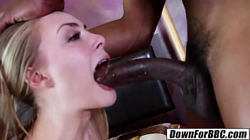DOWN FOR BBC: Sadie Blair filled with Isiah Maxwell monster 10 inches