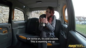 Fake Taxi Cindy Shine pays for cleaning bill with her pussy