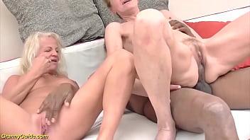 tight grandma ass destroyed by big black dick
