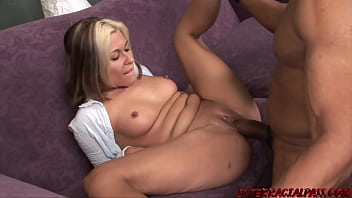 MILF Cindy gets Creampied by Blackzilla on the Casting Couch