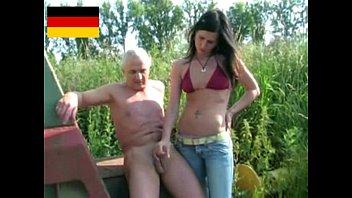 German dominant girl handjob