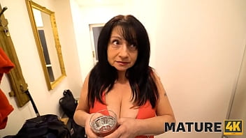 MATURE4K. Mature woman with a tempting body is ignited with the spark of desire