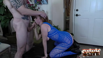 Redhead Anal Freak Penny Pax Dicked In Crotchless Bodysuit! 6 min