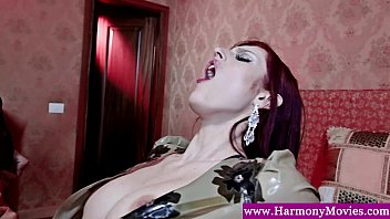 Double penetration for a redhead
