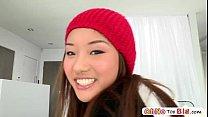 Monster cock screws teen pornstar Ana Li and she gets awarded with facial 5 min