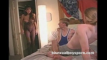 2 bisex boys suck each other in fron of freaky stepmom after being caught 7 min
