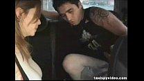 Argentina culeando en taxi.