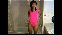 Petite Titty Thai teen Zoe 18 sucks & showers thaigirltia.com