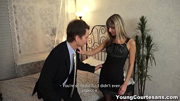 Young Courtesans - Dressed up Gina Gerson for a client teen-porn