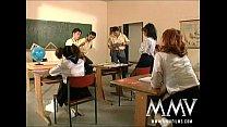 MMV Films German class room orgy