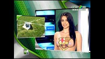 Goluri si Goale ep 5 Gina si Roxy (Romania naked news) 20 min
