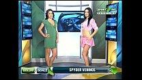 Goluri si Goale ep 8 Gina si Roxy (Romania naked news) 21 min