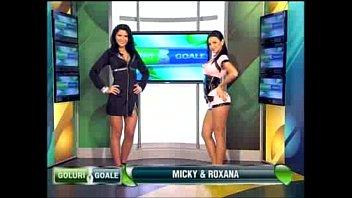 Goluri si Goale ep 11 Miki si Roxana (Romania naked news) 26 min