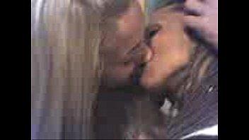 Hot lesbians kissing in public 4