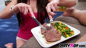 Steak and blowjob GF