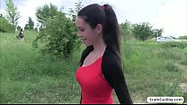 Gorgeous babe Isabelle gets creampied