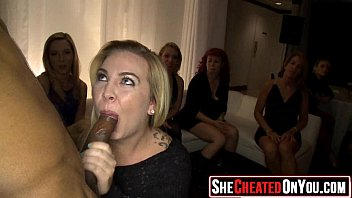 02 10 Cheating wives caught cock sucking at party31