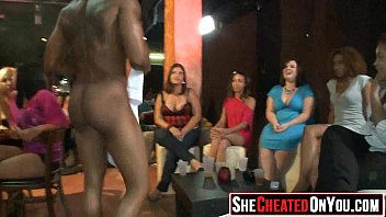 32 Wild party sluts suck off strippers t cfnm party31