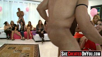 21 Strippers get blown at cfnm sex party  35